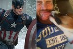 Guys, We Need To Talk About Captain America   & His Adorable Dog Dodger