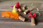 How To Make Cat Toys Out Of Wine Corks