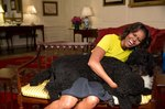 Michelle Obama, Sunny, And Bo Continue Bo Be #FriendshipGoals After The White House