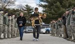 Air Force Says Goodbye To Dying K-9 Hero With Touching 'Last Call' Ceremony