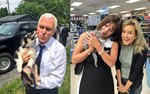 Vice President Pence Adds New Puppy And Kitten To His Cuddle Cabinet