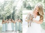 Clever Bride Replaces Flowers With Adoptable Puppies For A Dream Wedding