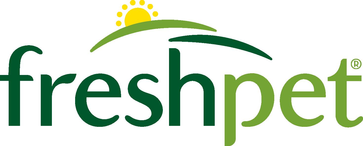 Fresh pet master brand logo.