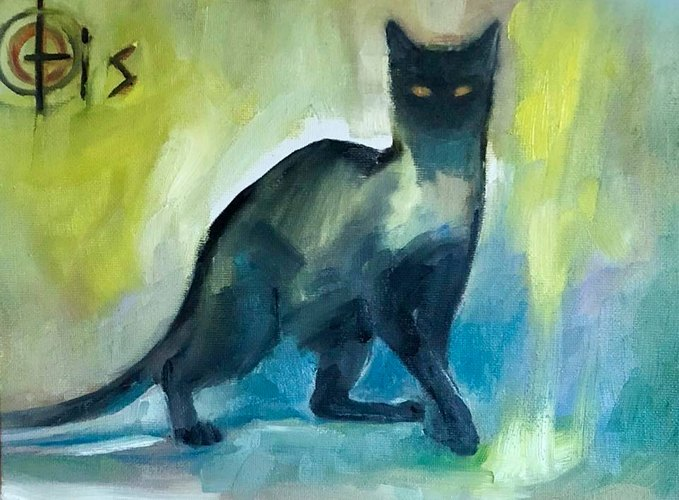 Otis / Rachel Schlueter / Cat Art Show