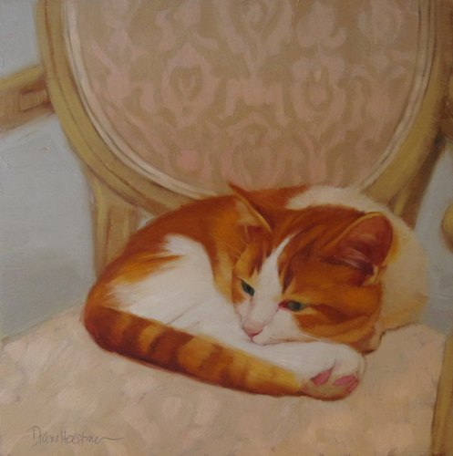 Chillin / Diane Hoeptner / Cat Art Show
